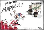 Cartoonist Joel Pett  Joel Pett's Editorial Cartoons 2013-09-17 gun rights