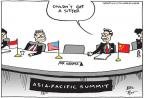 Cartoonist Joel Pett  Joel Pett's Editorial Cartoons 2013-10-09 Asia