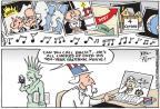 Cartoonist Joel Pett  Joel Pett's Editorial Cartoons 2014-02-09 movie