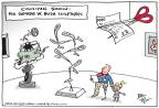Cartoonist Joel Pett  Joel Pett's Editorial Cartoons 2014-04-09 soldier