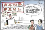 Cartoonist Joel Pett  Joel Pett's Editorial Cartoons 2014-04-17 senator