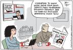 Cartoonist Joel Pett  Joel Pett's Editorial Cartoons 2014-07-18 air travel