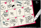 Cartoonist Joel Pett  Joel Pett's Editorial Cartoons 2014-07-31 summer vacation