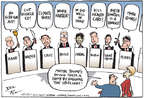 Cartoonist Joel Pett  Joel Pett's Editorial Cartoons 2015-07-15 climate