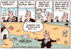 Cartoonist Joel Pett  Joel Pett's Editorial Cartoons 2016-06-05 dog