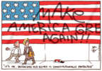 Cartoonist Joel Pett  Joel Pett's Editorial Cartoons 2016-12-01 patriotic symbol