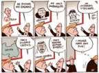 Cartoonist Joel Pett  Joel Pett's Editorial Cartoons 2017-08-05 Saudi Arabia