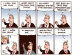 Cartoonist Joel Pett  Joel Pett's Editorial Cartoons 2017-09-07 division