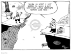 Cartoonist Joel Pett  Joel Pett's Editorial Cartoons 2001-08-29 division
