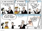 Cartoonist Joel Pett  Joel Pett's Editorial Cartoons 2003-03-02 art
