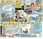 Cartoonist Joel Pett  Joel Pett's Editorial Cartoons 2003-04-27 Rush Limbaugh