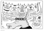 Cartoonist Joel Pett  Joel Pett's Editorial Cartoons 2008-08-26 democratic candidate