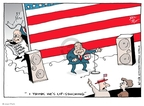 Cartoonist Joel Pett  Joel Pett's Editorial Cartoons 2008-08-17 John McCain