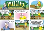 Cartoonist Brian Crane  Pickles 2009-03-29 muscle