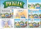 Cartoonist Brian Crane  Pickles 2009-05-24 good memory