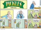 Cartoonist Brian Crane  Pickles 2007-11-04 good memory