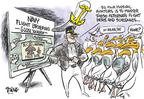 Cartoonist Dwane Powell  Dwane Powell's Editorial Cartoons 2004-03-24 Navy