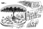 Cartoonist Dwane Powell  Dwane Powell's Editorial Cartoons 2008-10-16 round