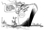 Cartoonist Dwane Powell  Dwane Powell's Editorial Cartoons 2009-01-19 tax