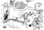 Cartoonist Dwane Powell  Dwane Powell's Editorial Cartoons 2009-02-26 tax