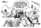 Cartoonist Dwane Powell  Dwane Powell's Editorial Cartoons 2009-02-26 United States