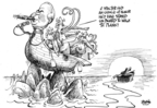 Cartoonist Dwane Powell  Dwane Powell's Editorial Cartoons 2009-04-30 honor