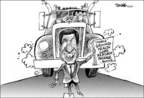 Cartoonist Dwane Powell  Dwane Powell's Editorial Cartoons 2009-09-21 legislation