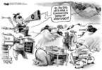 Cartoonist Dwane Powell  Dwane Powell's Editorial Cartoons 2009-10-22 president