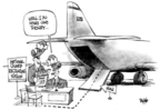 Cartoonist Dwane Powell  Dwane Powell's Editorial Cartoons 2004-12-02 National Guard