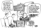 Cartoonist Dwane Powell  Dwane Powell's Editorial Cartoons 2005-04-17 legislation