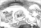 Cartoonist Dwane Powell  Dwane Powell's Editorial Cartoons 2005-06-26 military