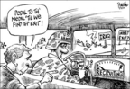 Cartoonist Dwane Powell  Dwane Powell's Editorial Cartoons 2005-07-03 military
