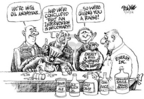 Cartoonist Dwane Powell  Dwane Powell's Editorial Cartoons 2005-07-29 George W. Bush congress