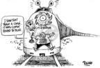 Cartoonist Dwane Powell  Dwane Powell's Editorial Cartoons 2005-09-04 round