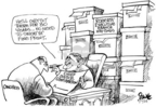 Cartoonist Dwane Powell  Dwane Powell's Editorial Cartoons 2005-09-07 George W. Bush congress