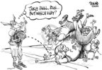 Cartoonist Dwane Powell  Dwane Powell's Editorial Cartoons 2005-09-30 cronyism