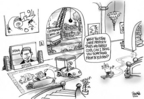 Cartoonist Dwane Powell  Dwane Powell's Editorial Cartoons 2006-05-03 tax