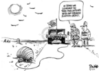 Cartoonist Dwane Powell  Dwane Powell's Editorial Cartoons 2006-05-17 patrol