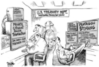 Cartoonist Dwane Powell  Dwane Powell's Editorial Cartoons 2006-06-26 home