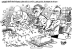 Cartoonist Dwane Powell  Dwane Powell's Editorial Cartoons 2006-09-14 president