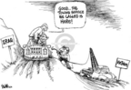 Cartoonist Dwane Powell  Dwane Powell's Editorial Cartoons 2006-10-06 president