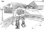 Cartoonist Dwane Powell  Dwane Powell's Editorial Cartoons 2007-01-31 home