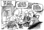Cartoonist Dwane Powell  Dwane Powell's Editorial Cartoons 2007-03-23 dog