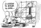Cartoonist Dwane Powell  Dwane Powell's Editorial Cartoons 2007-03-27 climate