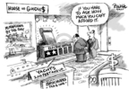 Cartoonist Dwane Powell  Dwane Powell's Editorial Cartoons 2007-05-16 cost
