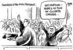 Cartoonist Dwane Powell  Dwane Powell's Editorial Cartoons 2007-06-05 climate