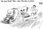 Cartoonist Dwane Powell  Dwane Powell's Editorial Cartoons 2007-06-20 John McCain
