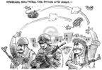 Cartoonist Dwane Powell  Dwane Powell's Editorial Cartoons 2007-07-17 patrol