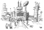 Cartoonist Dwane Powell  Dwane Powell's Editorial Cartoons 2007-07-25 college sports