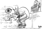 Cartoonist Dwane Powell  Dwane Powell's Editorial Cartoons 2007-08-08 legislation